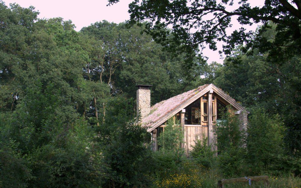 Als je toch in Aalden bent, het natuurhuis.. Architectuur die je raakt.